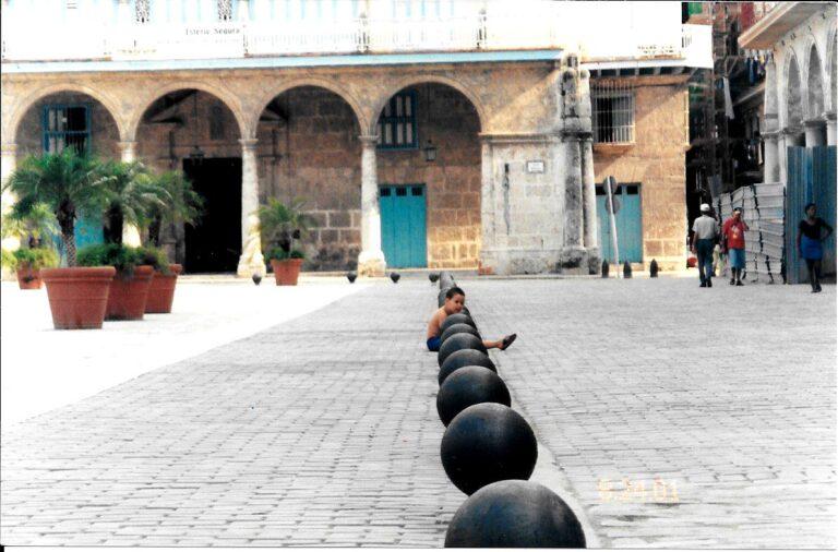 Patio Havana Cuba